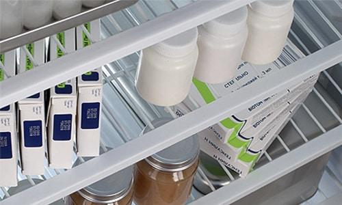 Хранить картриджи Актрапид НМ Пенфилла нужно в холодильнике при диапазоне температур +2... +8°С