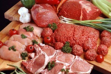 Мясо разных видов