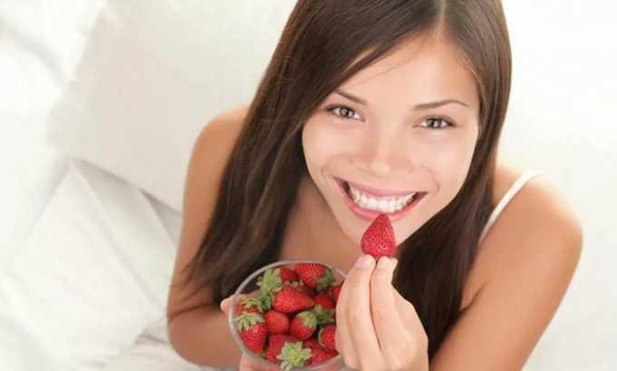 Когда заболевание становится хроническим, гастроэнтерологи разрешают съедать 4-5 ягод клубники в день