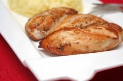 Грудка куриная в соевом соусе