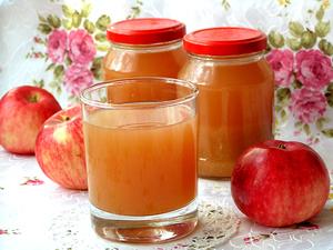 Консервированный яблочный сок